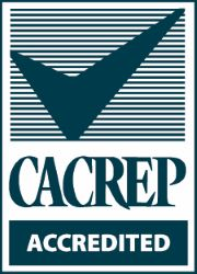 Accredited by the Council on Accreditation of Counseling & Related Educational Programs (CACREP)