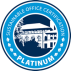 WWU Sustainable Office - Platinum level logo